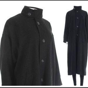 Eskander collection wool cashmere coat lagenlook
